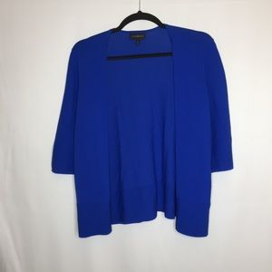 Lane Bryant 18/20 blue open front cardigan